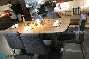 Bàn ăn Bắc Âu CT605 ghế SD-CY102