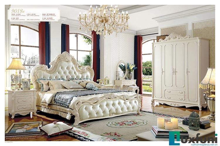 Giường ngủ đẹp 9018