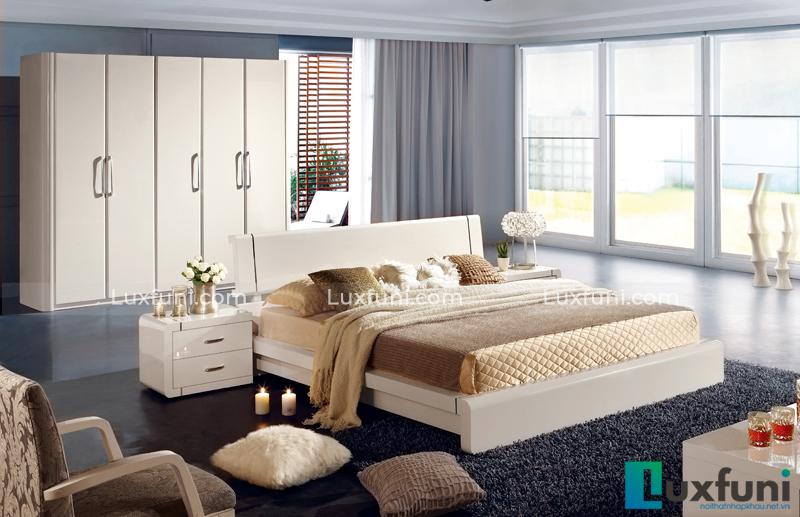 Giường ngủ hiện đại Peacook A3305