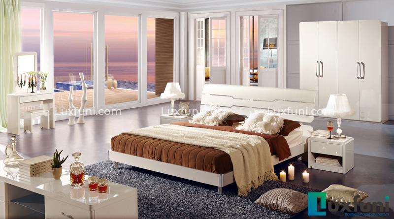 Giường ngủ hiện đại Peacook A3311L