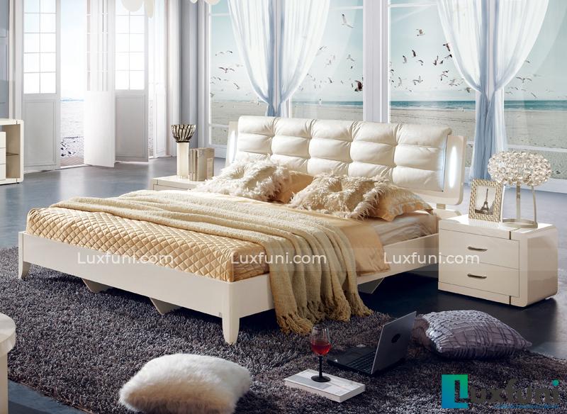 Giường ngủ hiện đại Peacook A3316