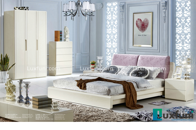 Giường ngủ hiện đại Peacook A3318