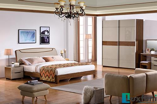 Giường ngủ hiện đại BOF 361 Tủ 362