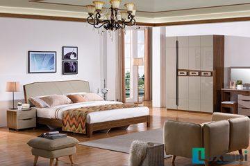 Giường ngủ hiện đại BOF 362 Tủ 361