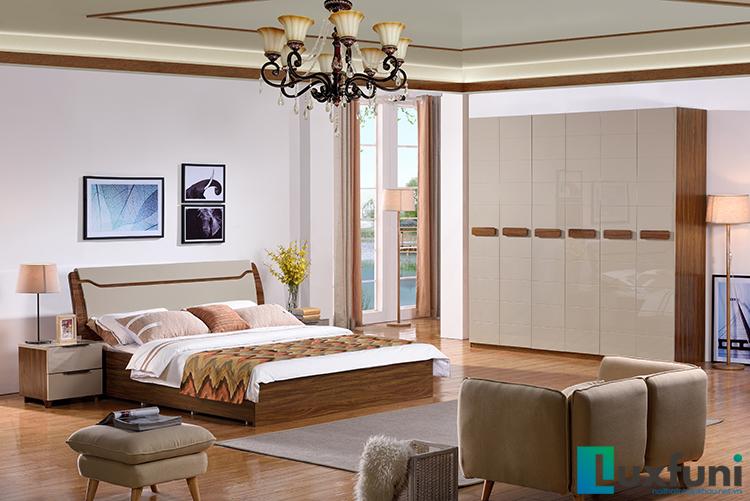 Giường ngủ hiện đại BOF 363 tủ 363