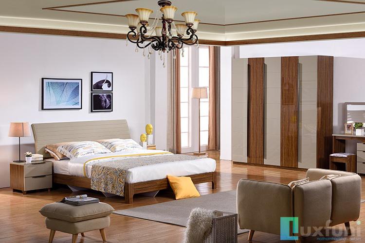 Giường ngủ, tủ hiện đại BOF 365