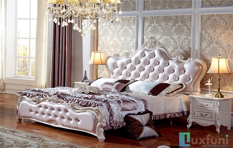 Giường ngủ đẹp L8817