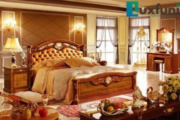 Giường ngủ Châu Âu cao cấp 505