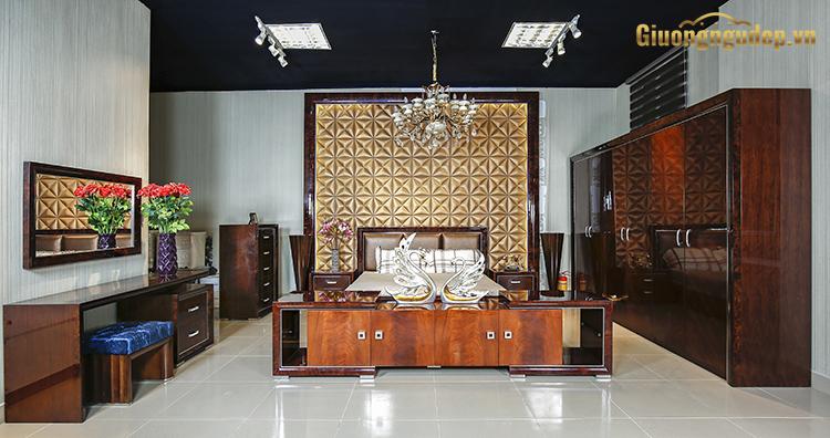 Phòng ngủ phong cách hiện đại cao cấp