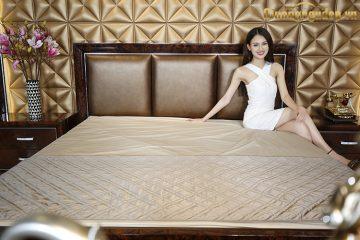 Ghế đuôi giường bọc da cao cấp G8802X