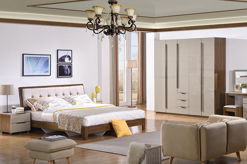 Bộ phòng ngủ hiện đại BOF 366#