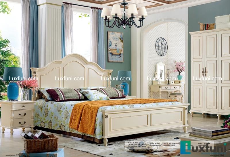 Giường ngủ Bắc Mỹ 8605A