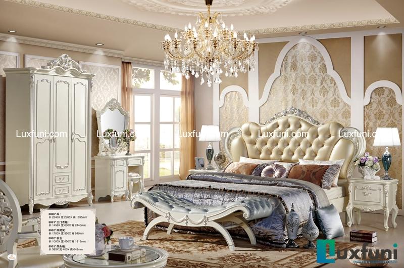 Giường ngủ 8806X sang trọng đẳng cấp