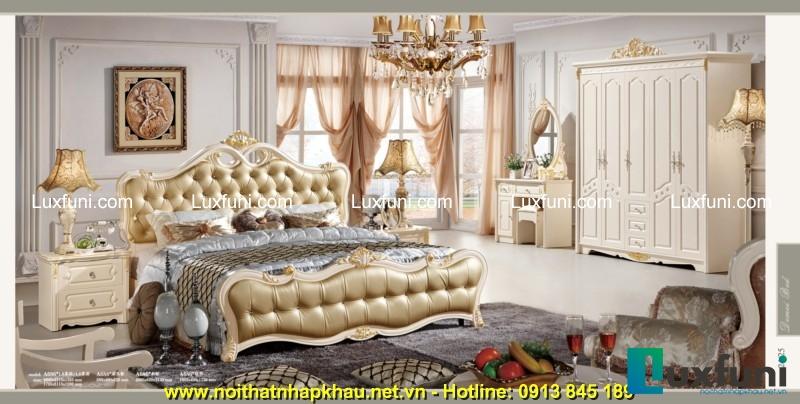 Giường ngủ DM-A686 vừa mang lại êm ái cho người dùng, vừa tạo nên vẻ đẹp sang trọng, quý phái cho không gian