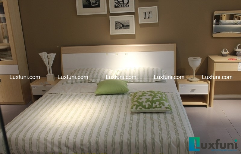 Giường ngủ F3017D là lựa chọn thông minh cho những không gian hiện đại, nhẹ nhàng