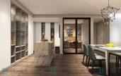 Thiết kế nội thất nhà anh Hưng tòa D Mulberry lane