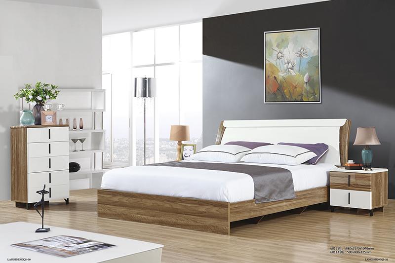 Giường ngủ Wilz 6012- Tap Wilz 6011- Tủ đựng đồ 5 ngăn Wilz 6011-2