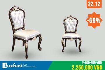 Ghế ăn tân cổ điển G8805X thanh lý-3