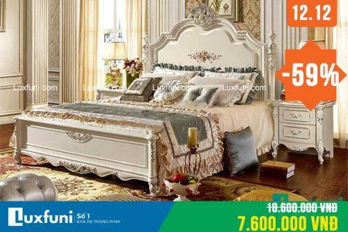 Giường ngủ ngọc trai 8833X thanh lý