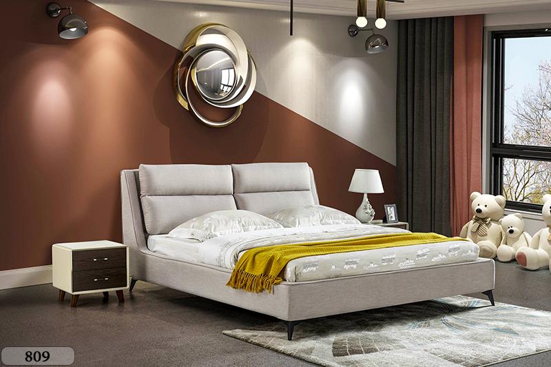 Giường ngủ tân cổ điển đương đại Patrick 809