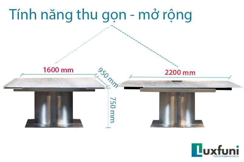 Bàn ăn T809 – kiệt tác bàn ăn thông minh đẹp sang trọng-4