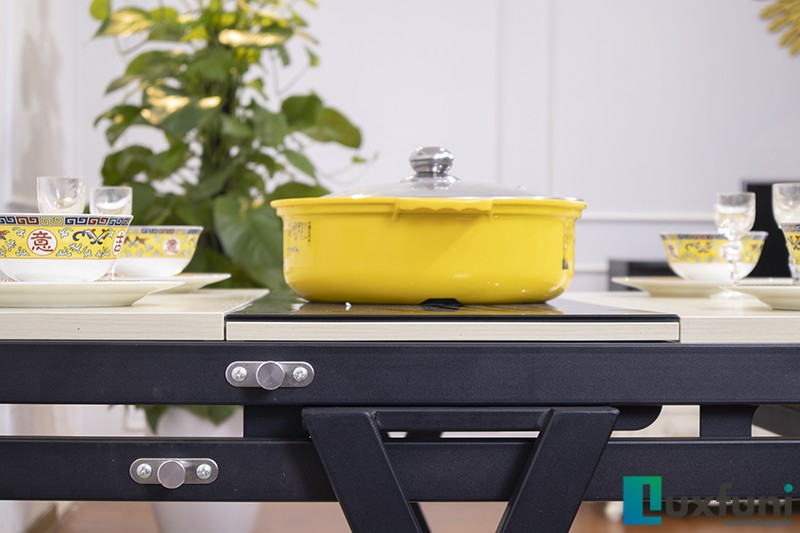 Bàn ăn thông minh tích hợp bếp từ B2475-5