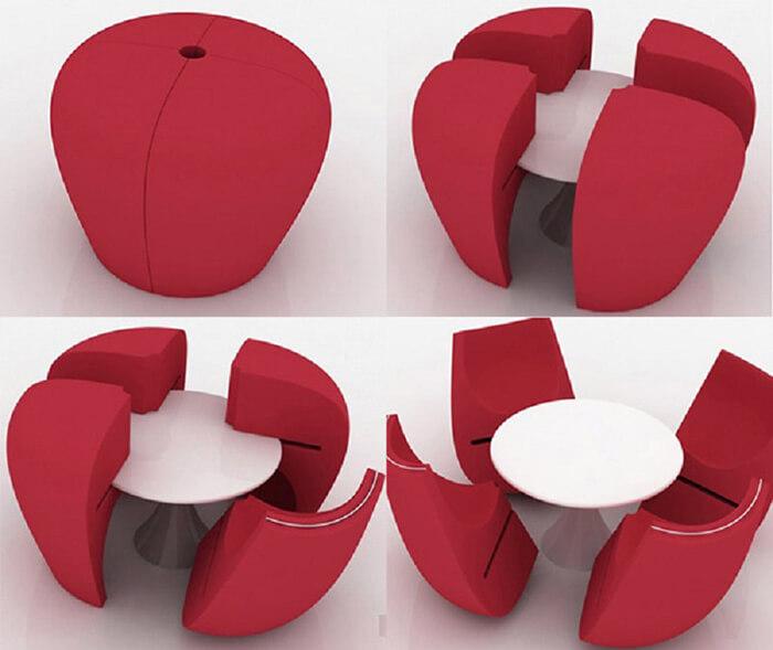 """Bộ bàn ghế thông minh """"biến hình"""" ai cũng muốn sở hữu-8"""