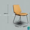 Ghế ăn D111 (2 phiên bản có tay - không tay)-5