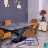 Bộ bàn ăn hiện đại UK T261 (kèm 4 ghế)-2