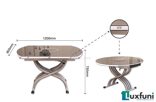 Các mẫu bàn ăn thông minh cao cấp vừa Tiện vừa Sang-04