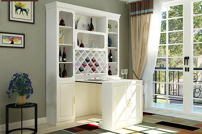 Bàn ăn thông minh kết hợp tủ rượu dành cho ngôi nhà hiện đại 2020-4