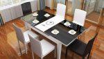 Bộ bàn ăn 6 ghế xếp gọn – lựa chọn thông minh cho nhà bếp hiện đại