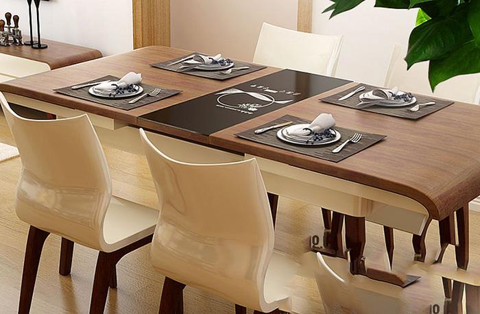 Có nên lựa chọn bàn ăn mở rộng cho căn hộ cao cấp-06