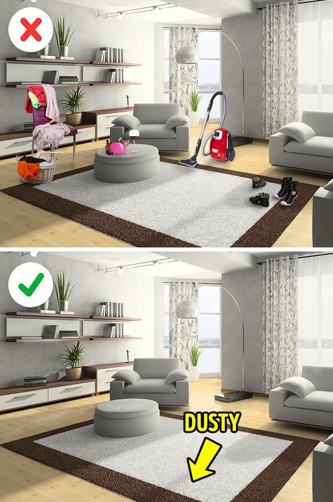 5 Bí quyết để nhà bạn luôn sạch sẽ gọn gàng-1