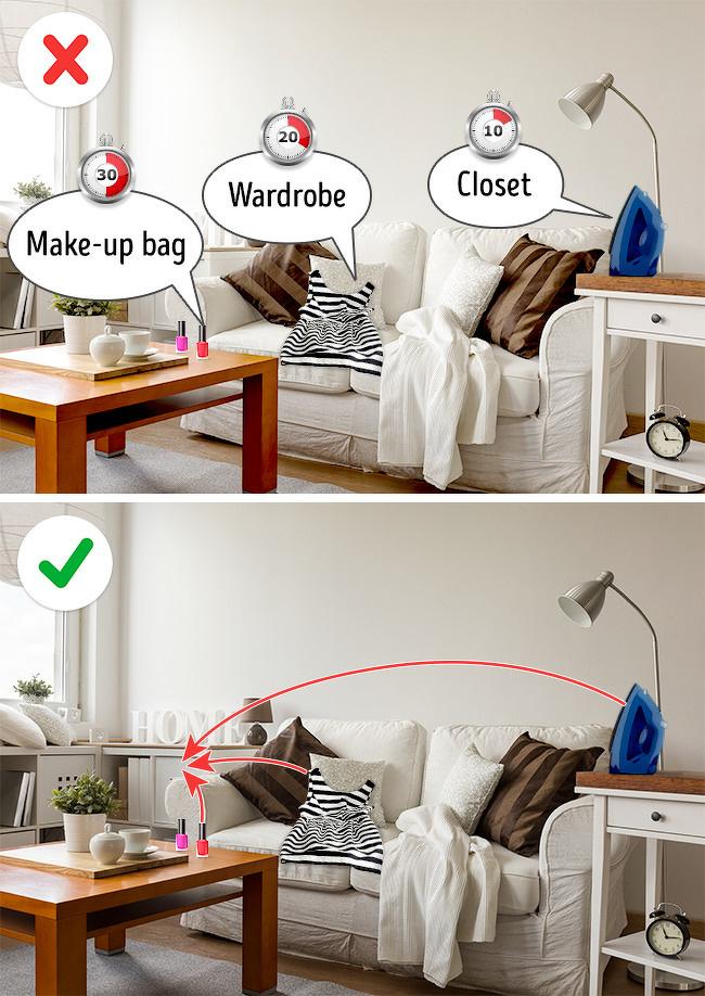5 Bí quyết để nhà bạn luôn sạch sẽ gọn gàng-3