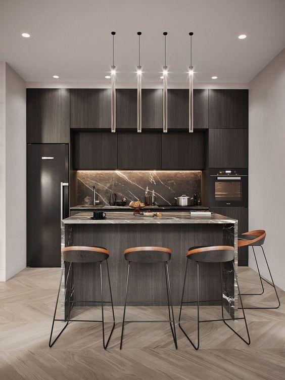 6 lưu ý khi thiết kế đèn chiếu sáng cho nhà bếp-1