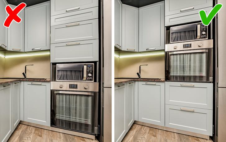 9 lỗi thiết kế phòng bếp dễ mắc phải-1