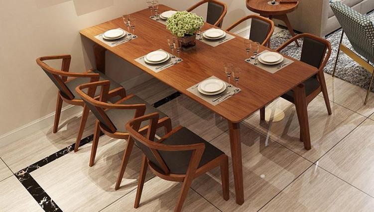 Chia sẻ cách lựa chọn và bảo quản bàn ăn bằng gỗ-13