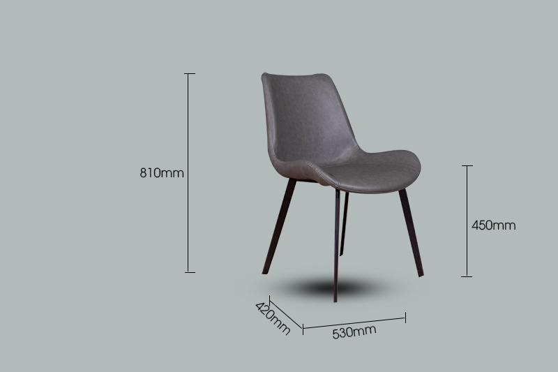 Ghế ăn D112 phong cách tối giản-4-1