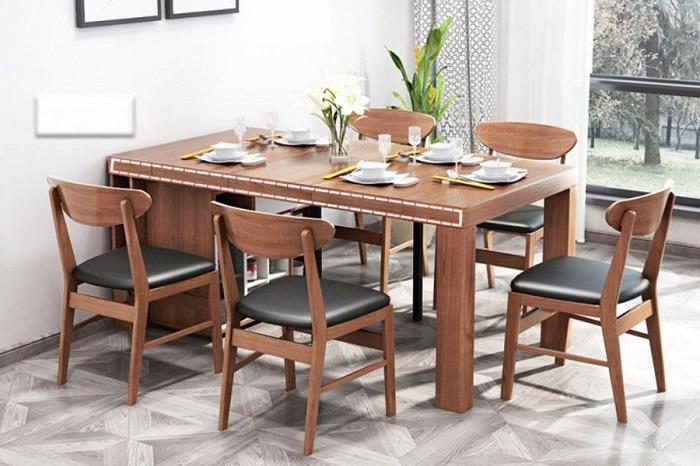 Những bộ bàn ăn thông minh đẹp ấn tượng