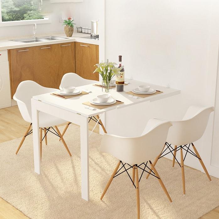 Những bộ bàn ăn thông minh gấp gọn đáng sở hữu nhất