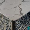 Bộ bàn ăn mặt đá C6 (kèm 04 ghế)-3