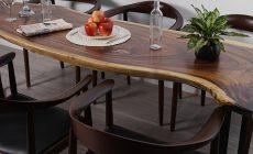 Bật mí mẫu bàn ăn gỗ cao cấp siêu chất-02