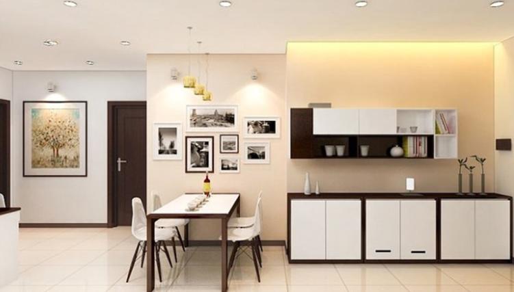 Mẫu bàn ăn hiện đại cho căn hộ