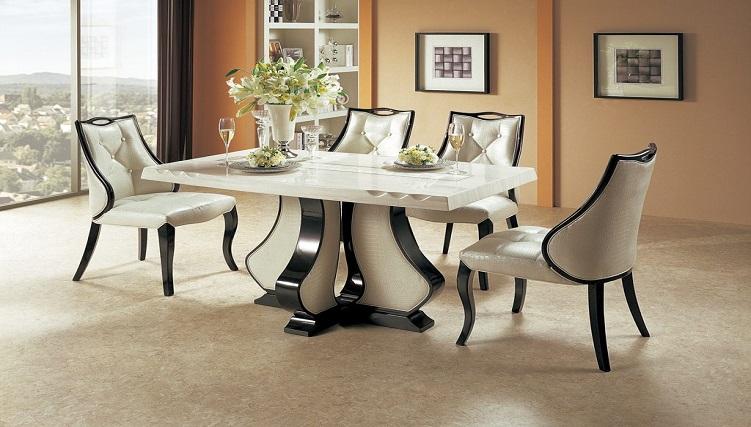 Có nên lựa chọn bàn ăn mặt đá cẩm thạch-3