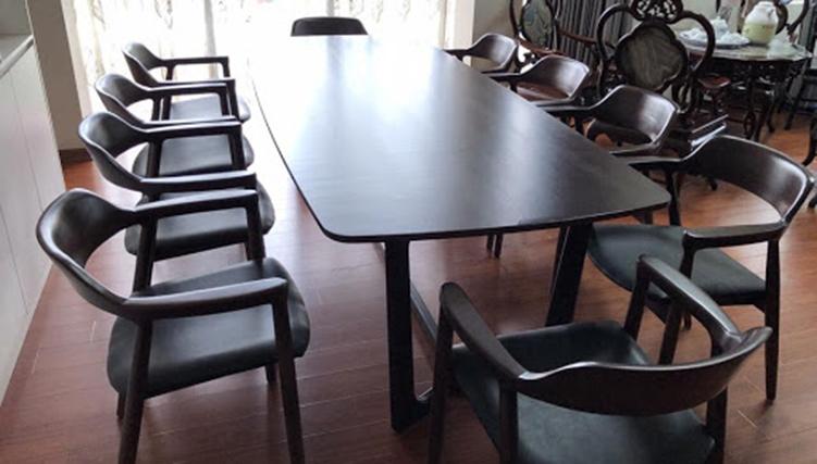 Mẫu bàn ăn thông minh gỗ sồi cao cấp hot nhất 2020-05