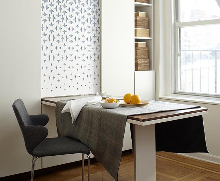 Trọn bộ bàn ăn thông minh treo tường cho nhà nhỏ-8