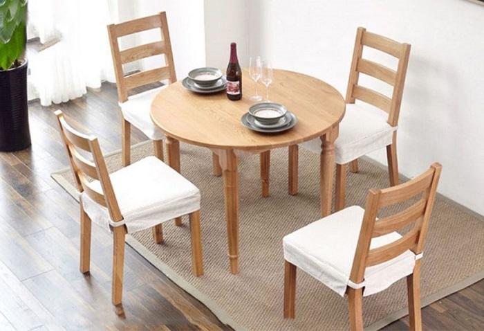 5 lý do nên chọn bàn ăn gia đình bằng gỗ-4