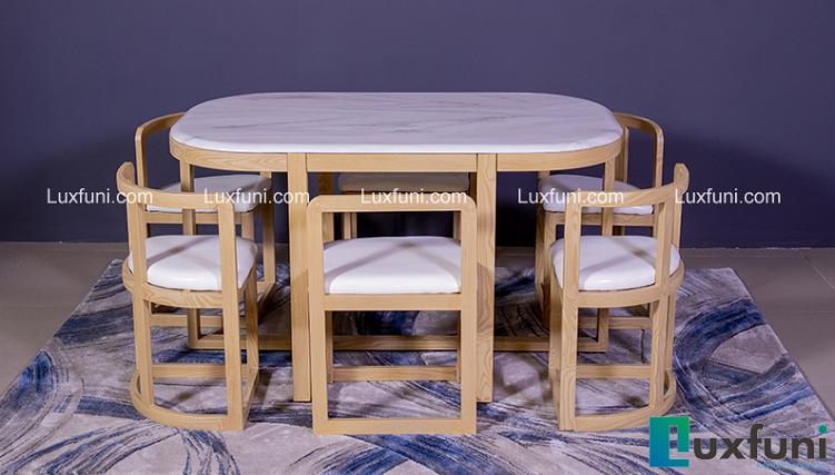 5 bộ bàn ăn 6 ghế đẹp hoàn hảo-6