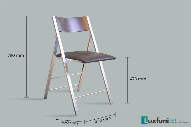 Thông số kích thước ghế ăn C3332